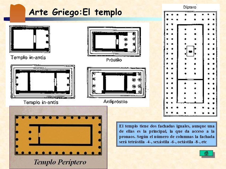 Arte Griego:El templo