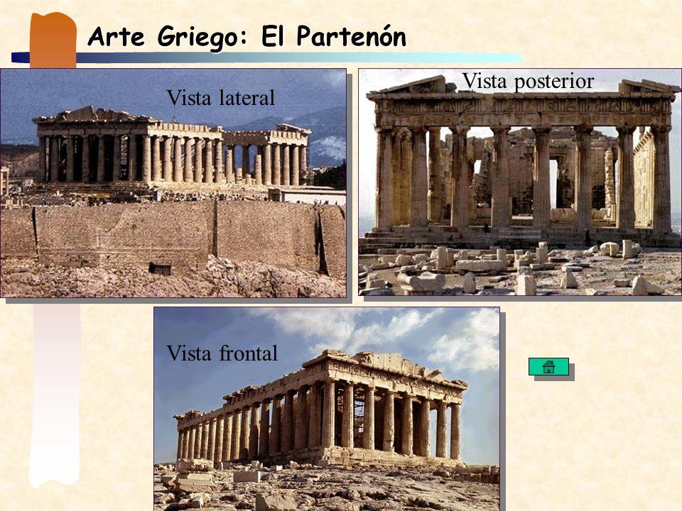Arte Griego: El Partenón