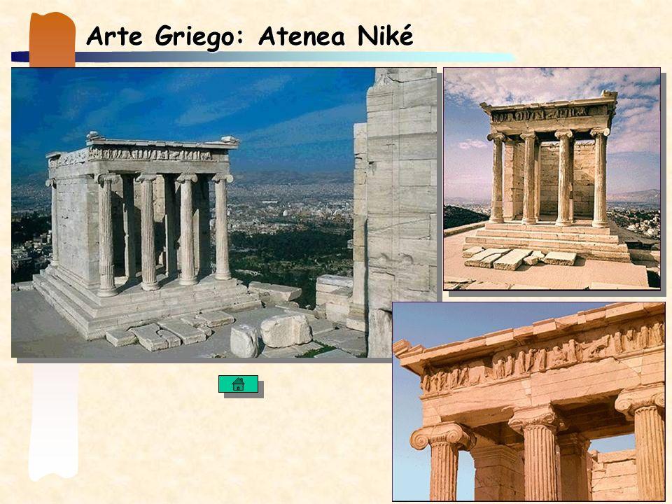 Arte Griego: Atenea Niké