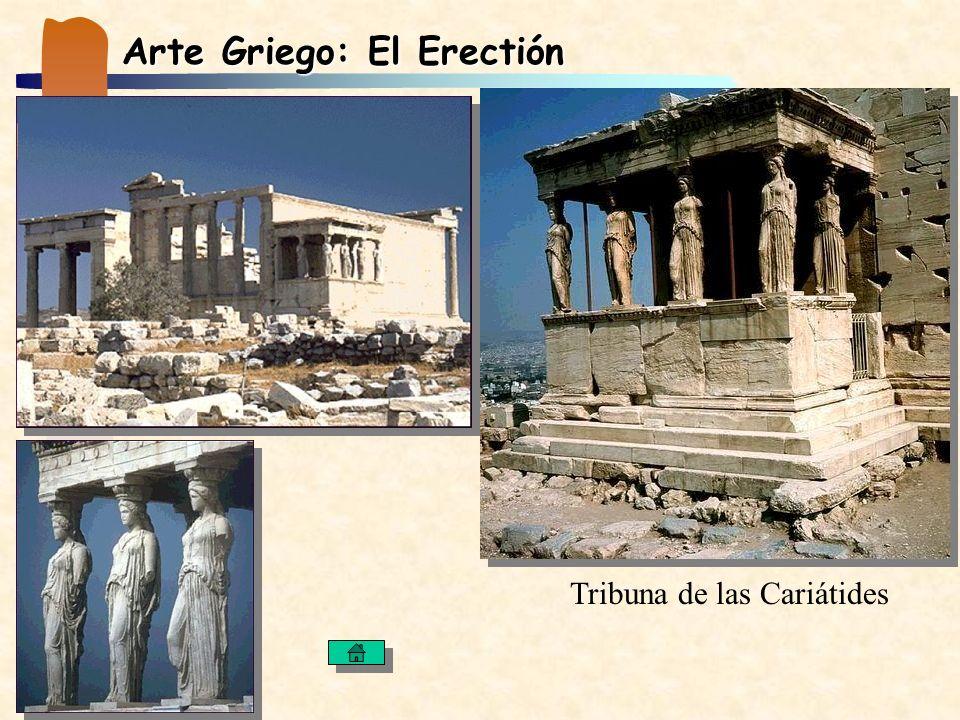 Arte Griego: El Erectión