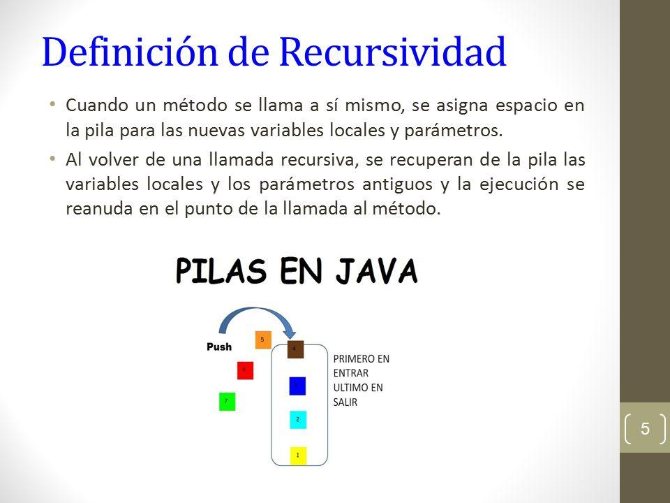 Recursividad. - ppt descargar