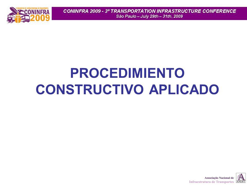 PROCEDIMIENTO CONSTRUCTIVO APLICADO