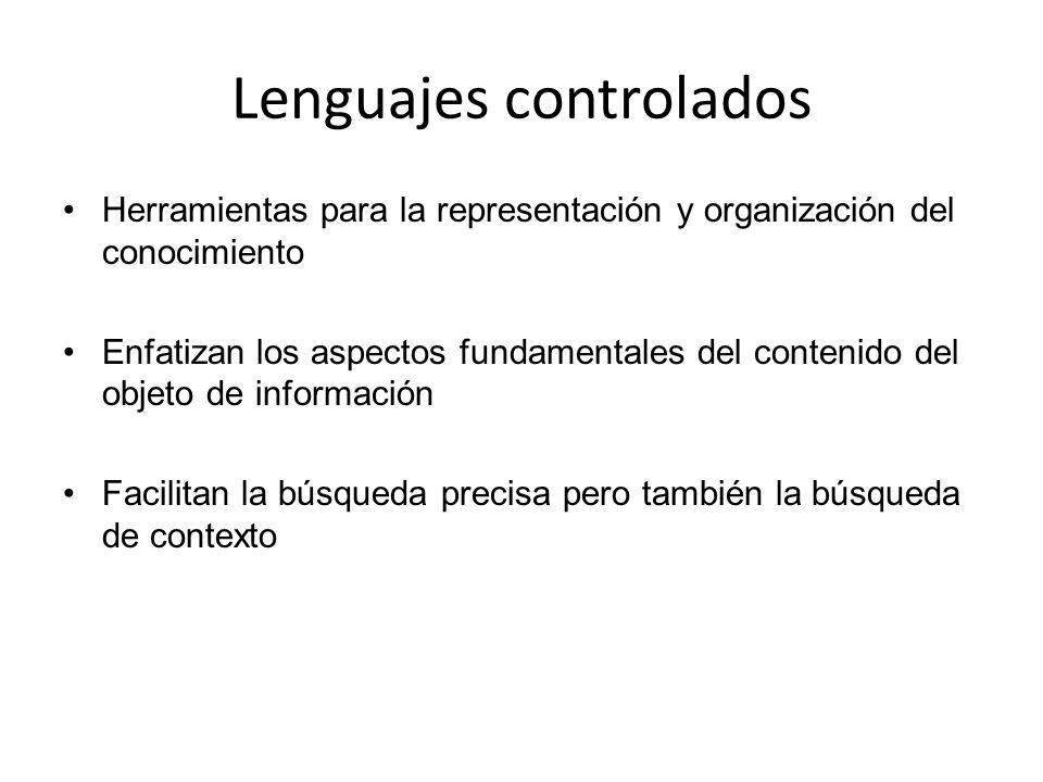 Lenguajes controlados