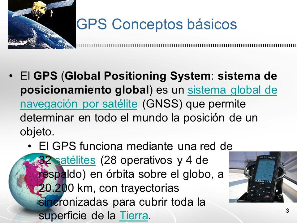 GPS Conceptos básicos
