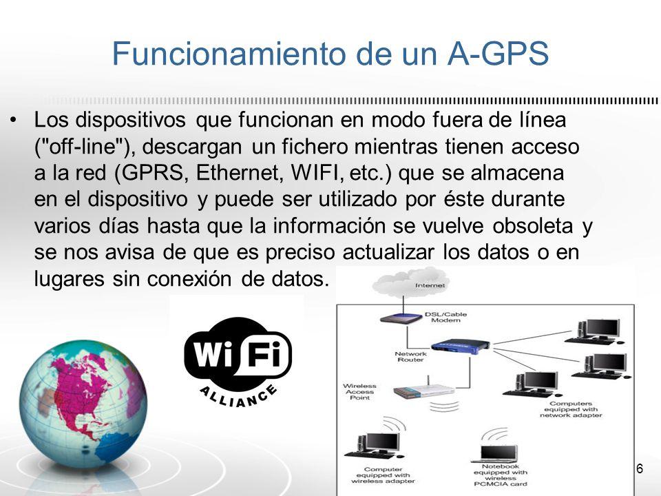 Funcionamiento de un A-GPS