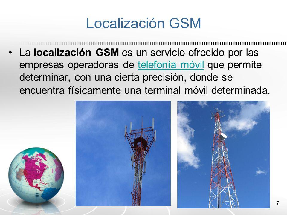 Localización GSM