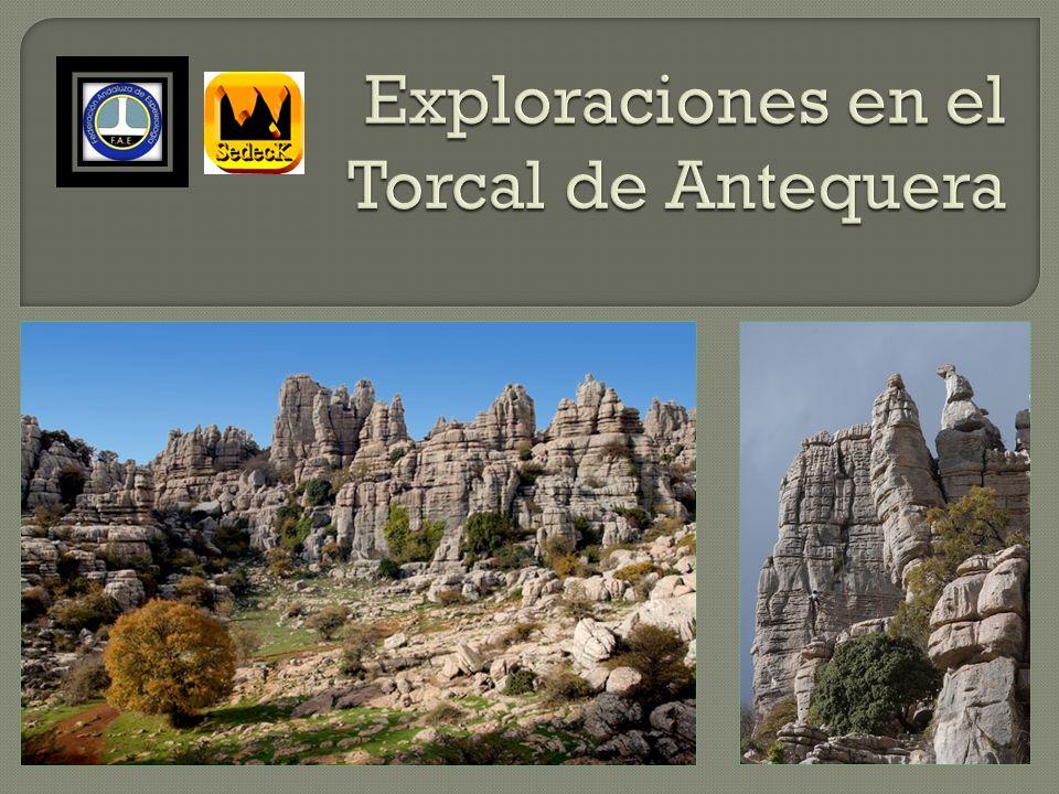 Exploraciones en el Torcal de Antequera
