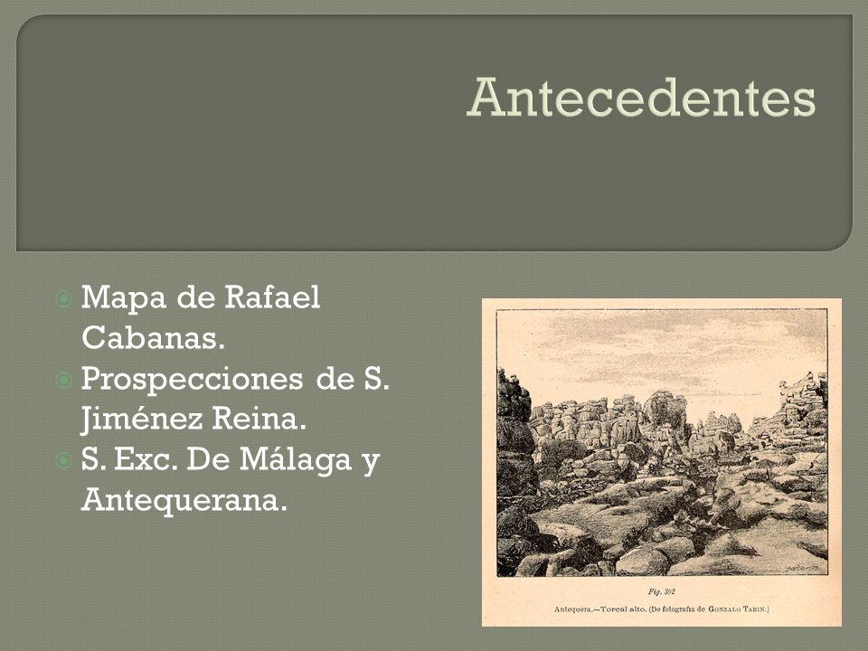 Antecedentes Mapa de Rafael Cabanas.