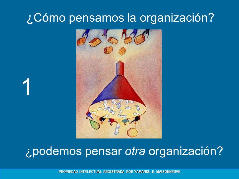 ¿Cómo pensamos la organización