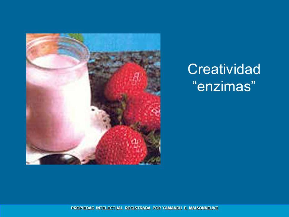 Creatividad enzimas