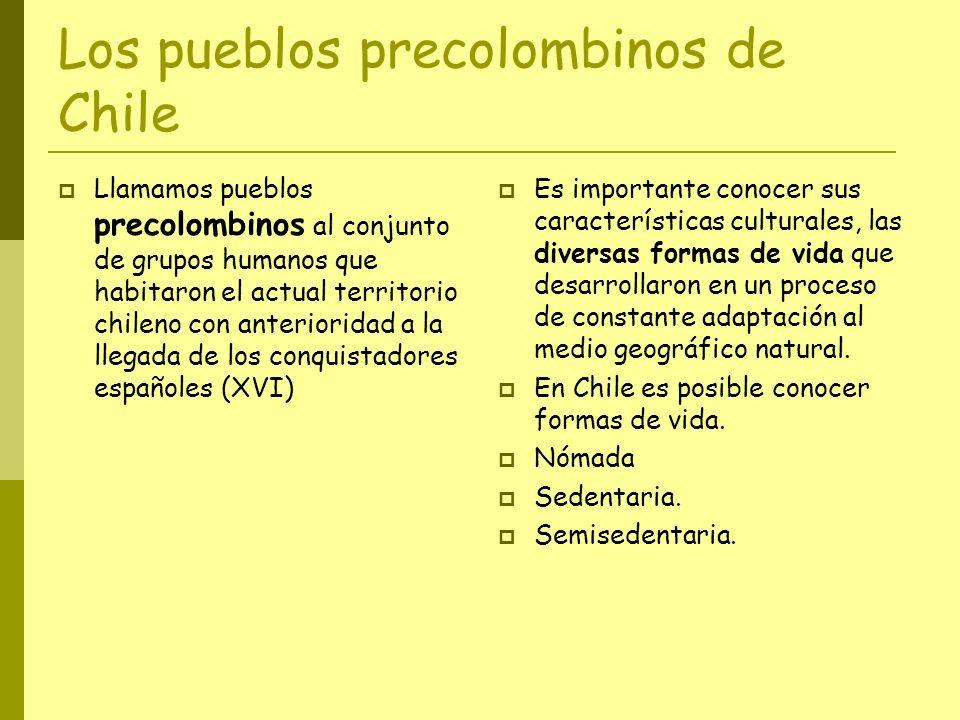 Los pueblos precolombinos de Chile