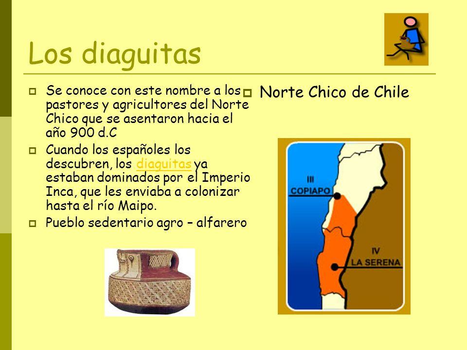 Los diaguitas Norte Chico de Chile