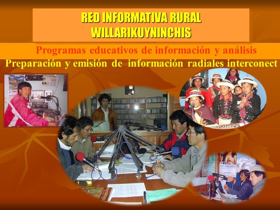 RED INFORMATIVA RURAL WILLARIKUYNINCHIS