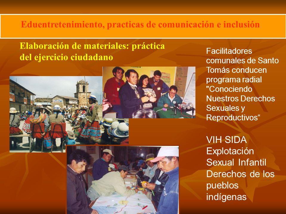 Eduentretenimiento, practicas de comunicación e inclusión