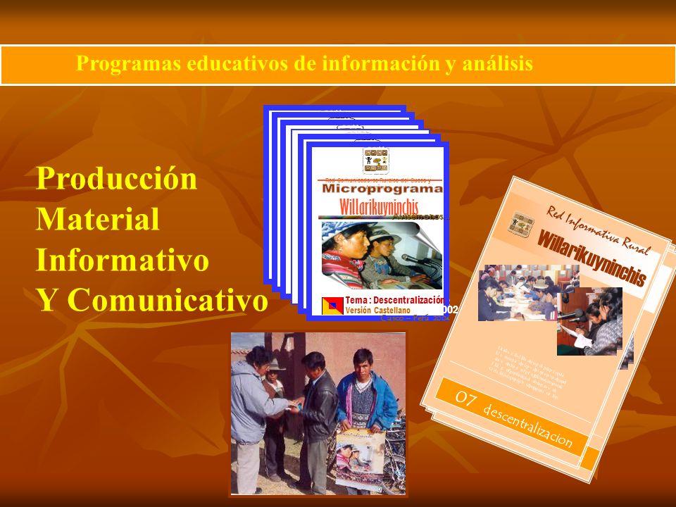 Red Comunicadores Rurales del Cusco y Apurimac