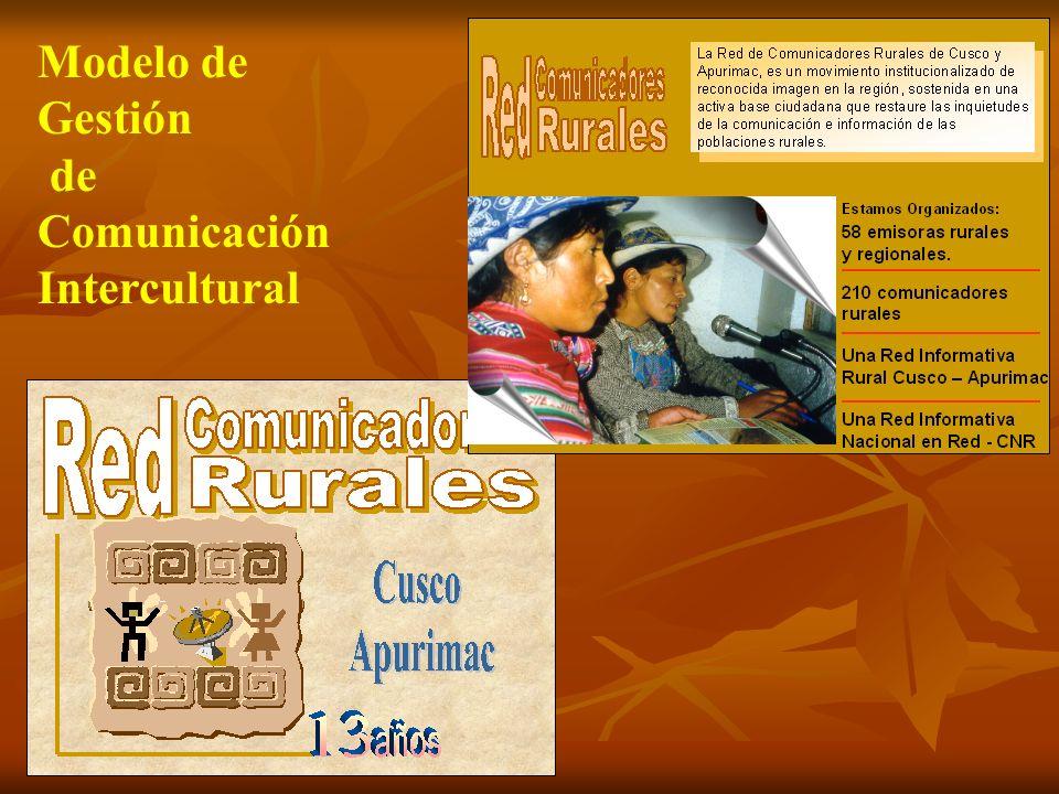 Modelo de Gestión de Comunicación Intercultural