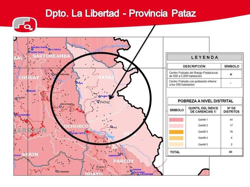 Dpto. La Libertad - Provincia Pataz