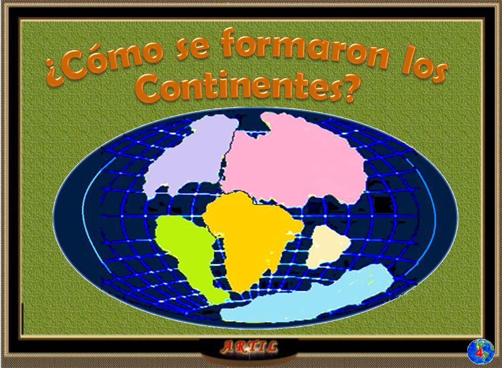 ¿Cómo se formaron los Continentes