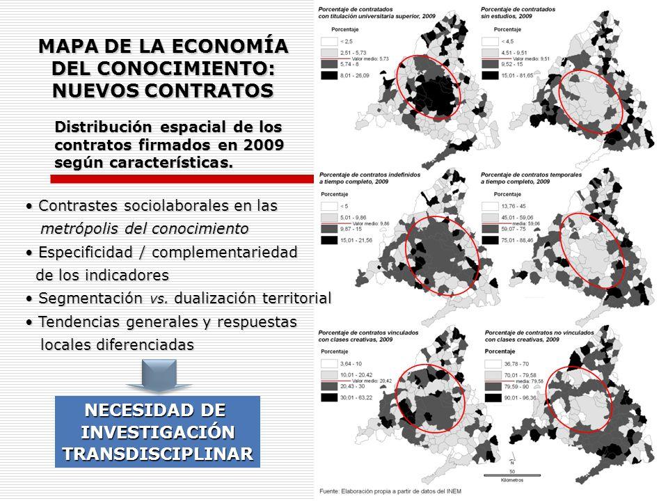 MAPA DE LA ECONOMÍA DEL CONOCIMIENTO: NUEVOS CONTRATOS
