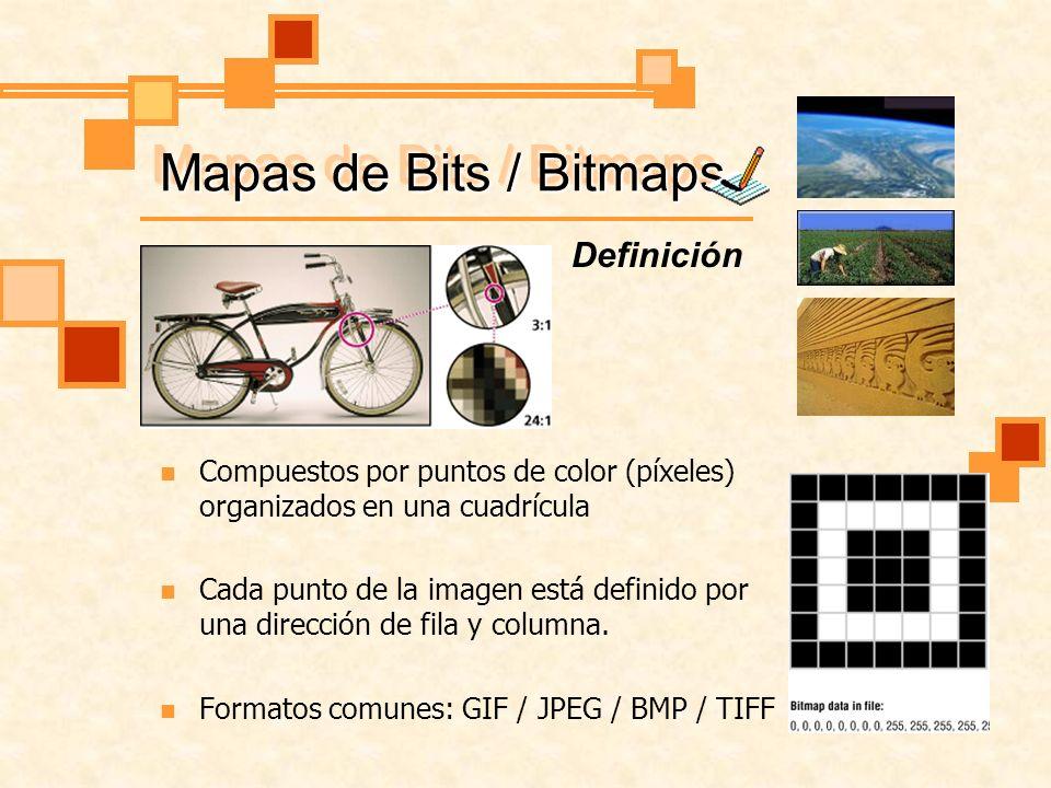 Mapas de Bits / Bitmaps Definición