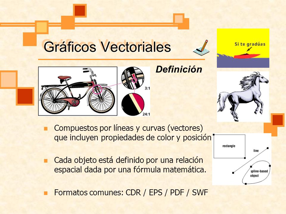 Gráficos Vectoriales Definición