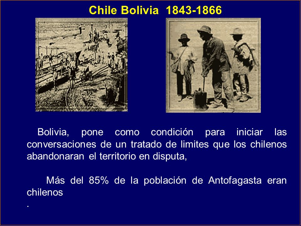 Chile Bolivia 1843-1866