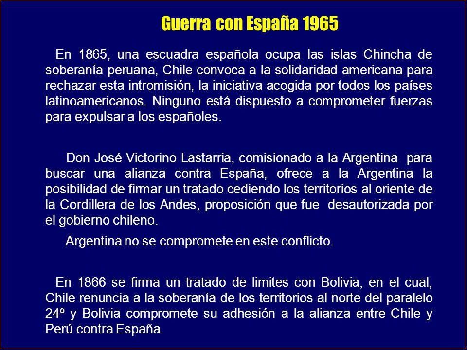 Guerra con España 1965