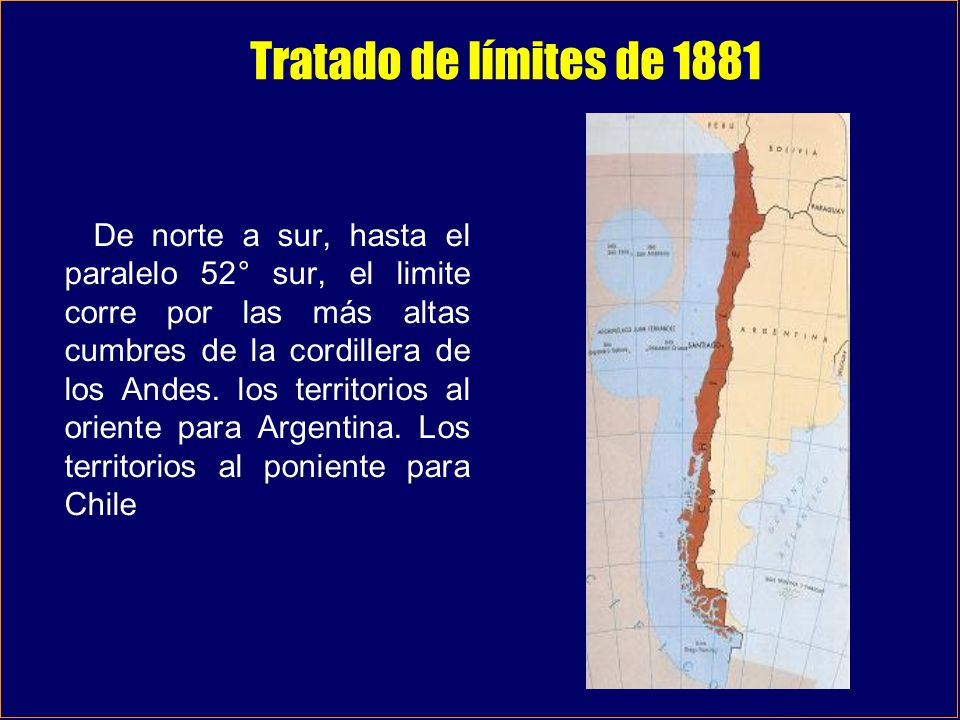 Tratado de límites de 1881