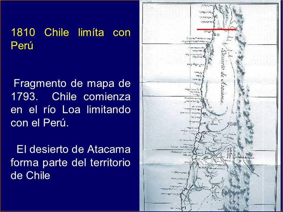 El desierto de Atacama forma parte del territorio de Chile