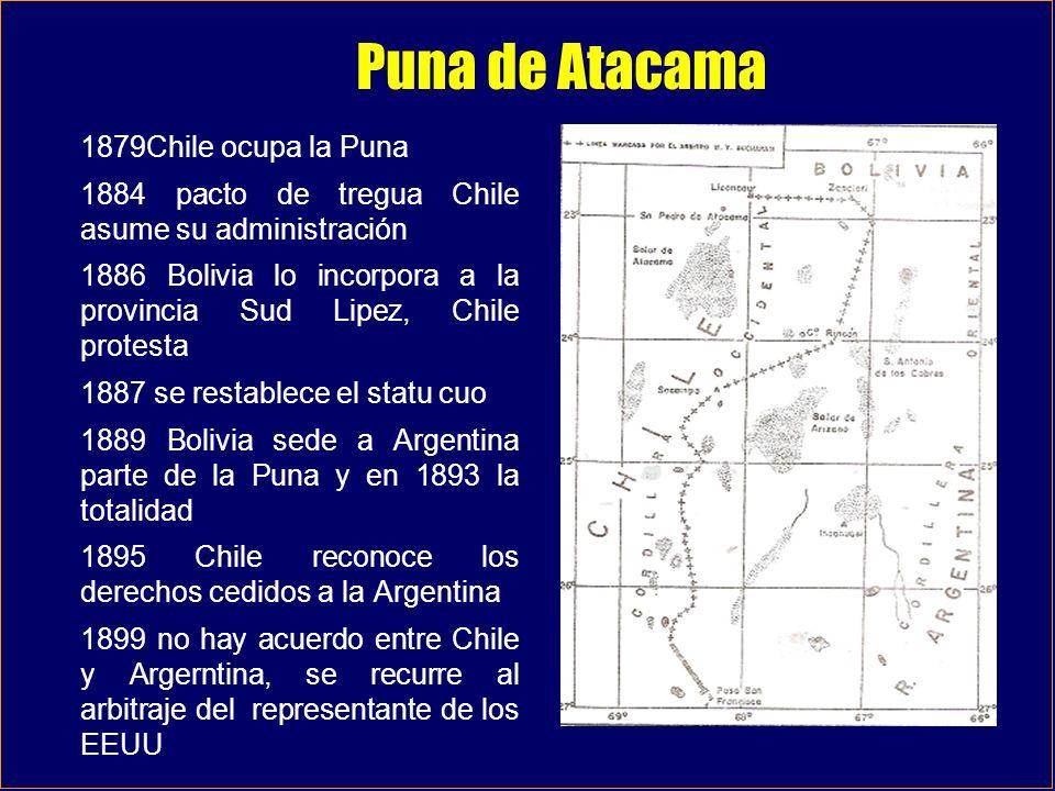 Puna de Atacama 1879Chile ocupa la Puna