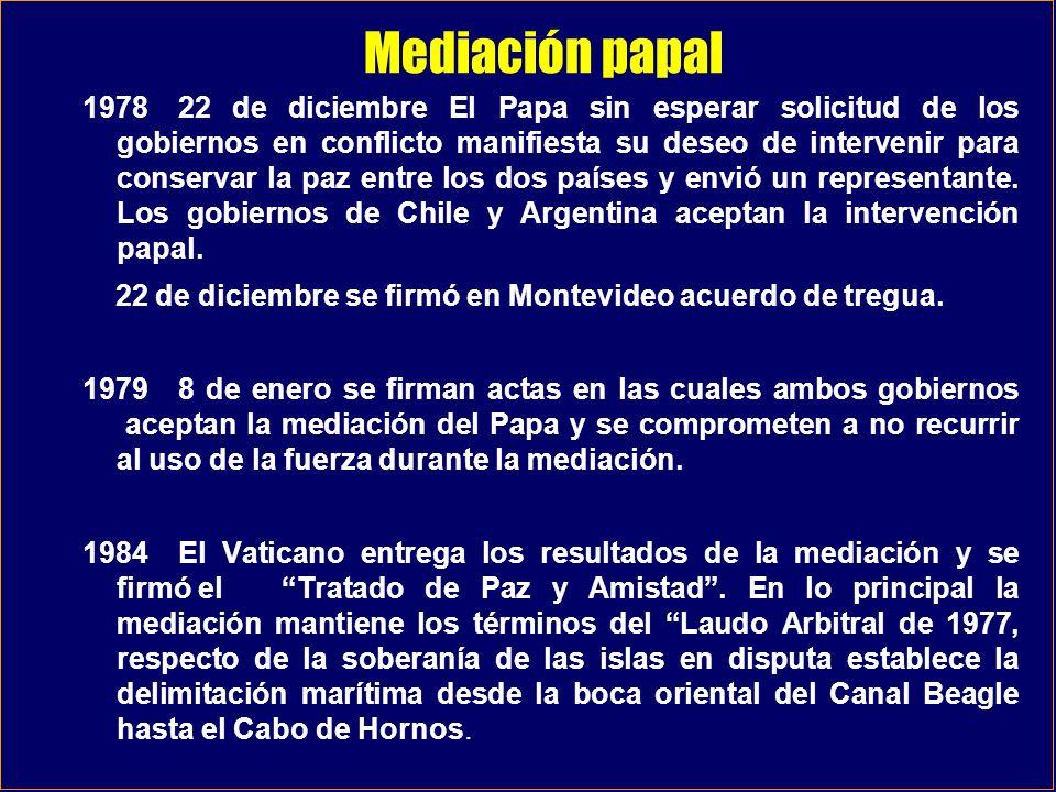 Mediación papal