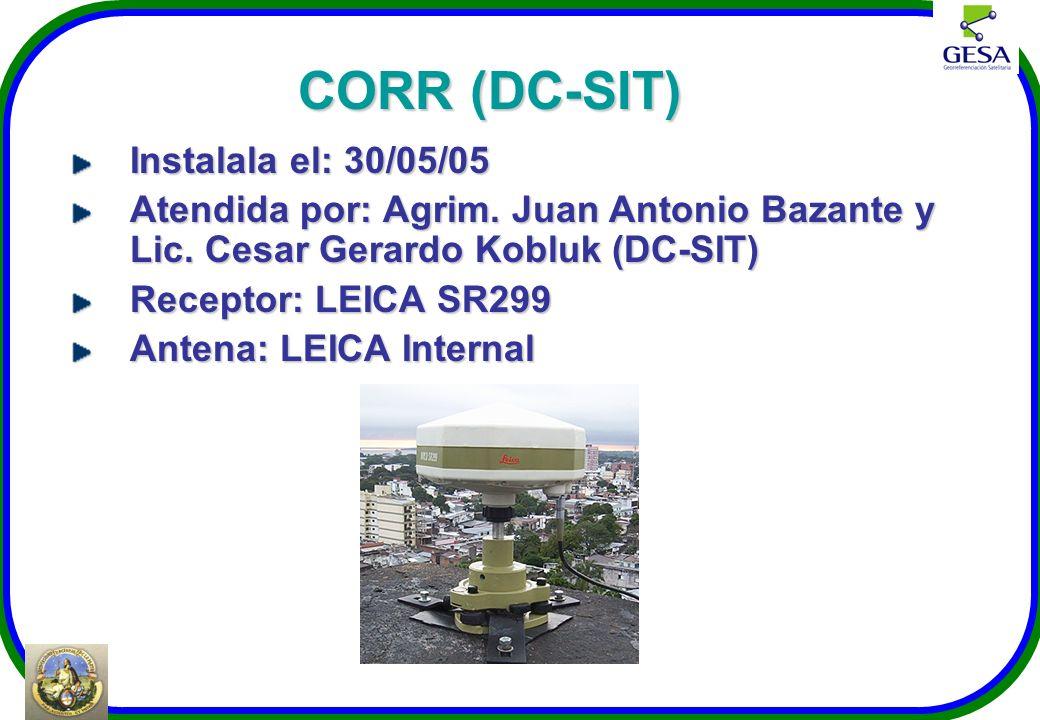 CORR (DC-SIT) Instalala el: 30/05/05