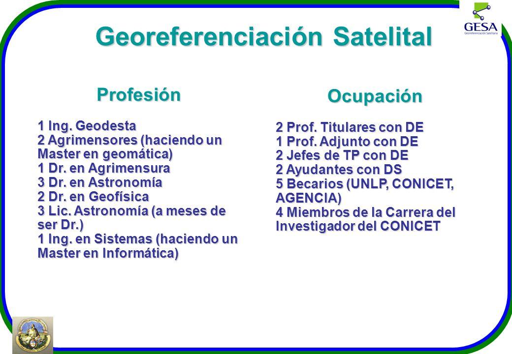 Georeferenciación Satelital