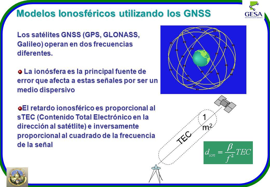 Modelos Ionosféricos utilizando los GNSS