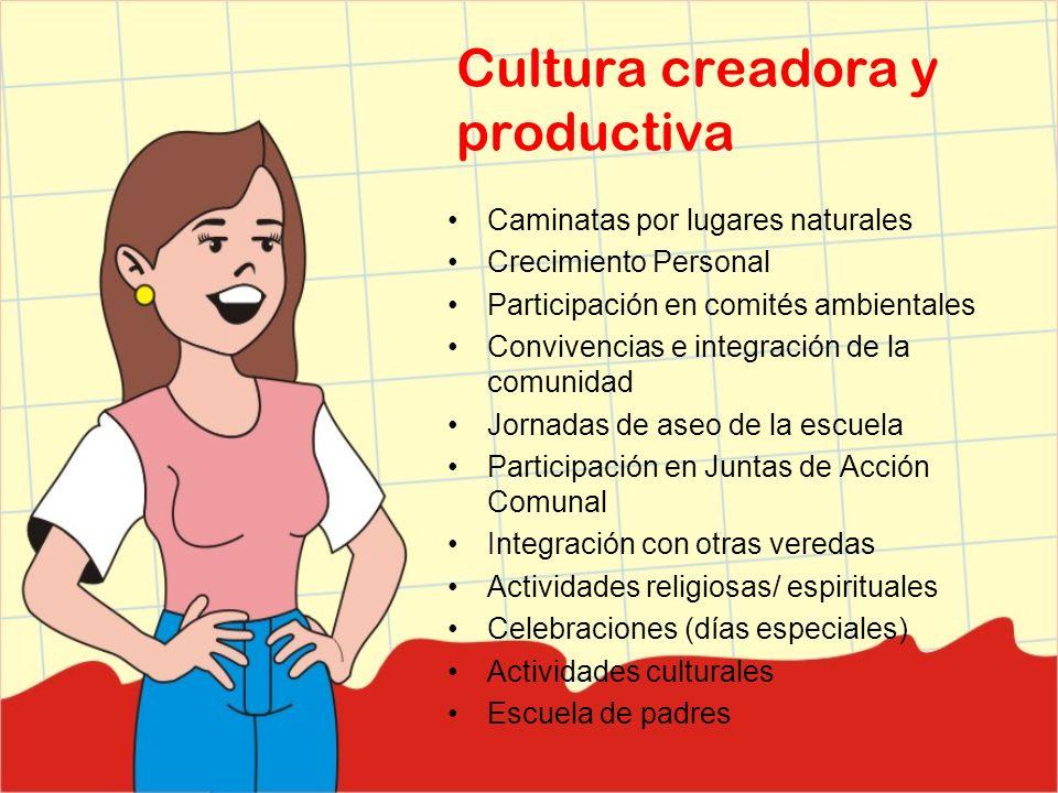 Cultura creadora y productiva