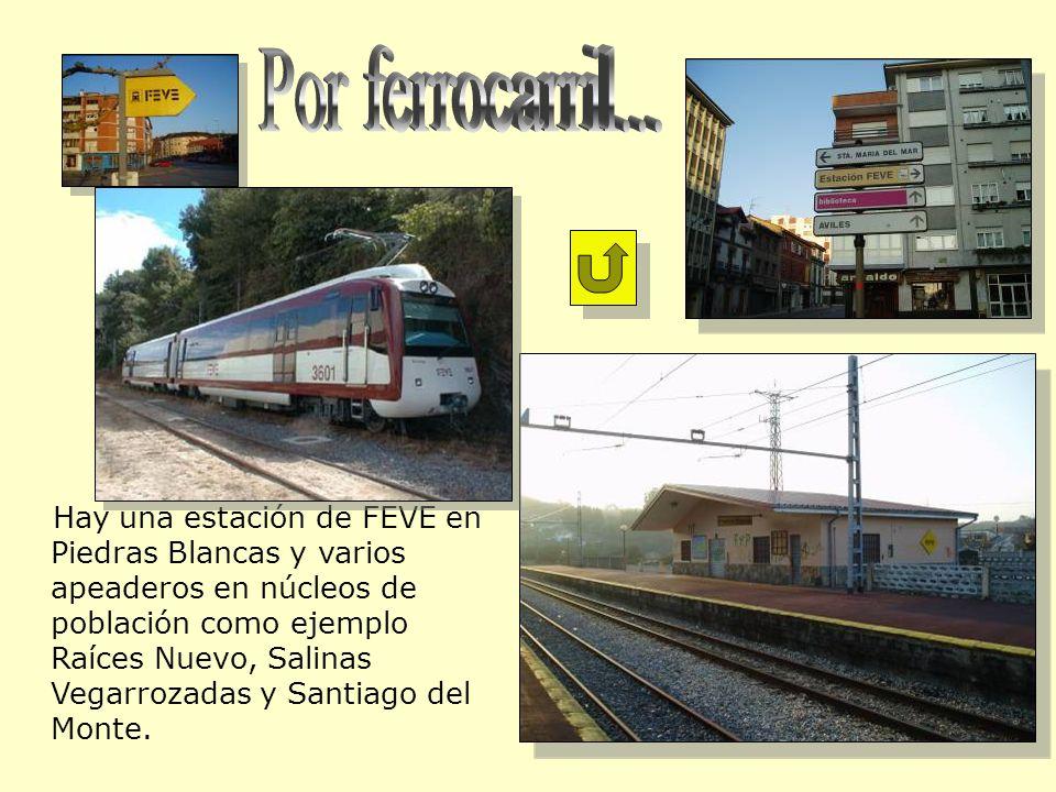 Por ferrocarril...