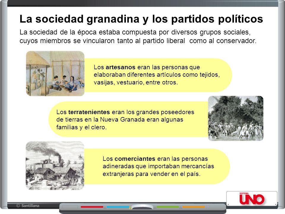 La sociedad granadina y los partidos políticos