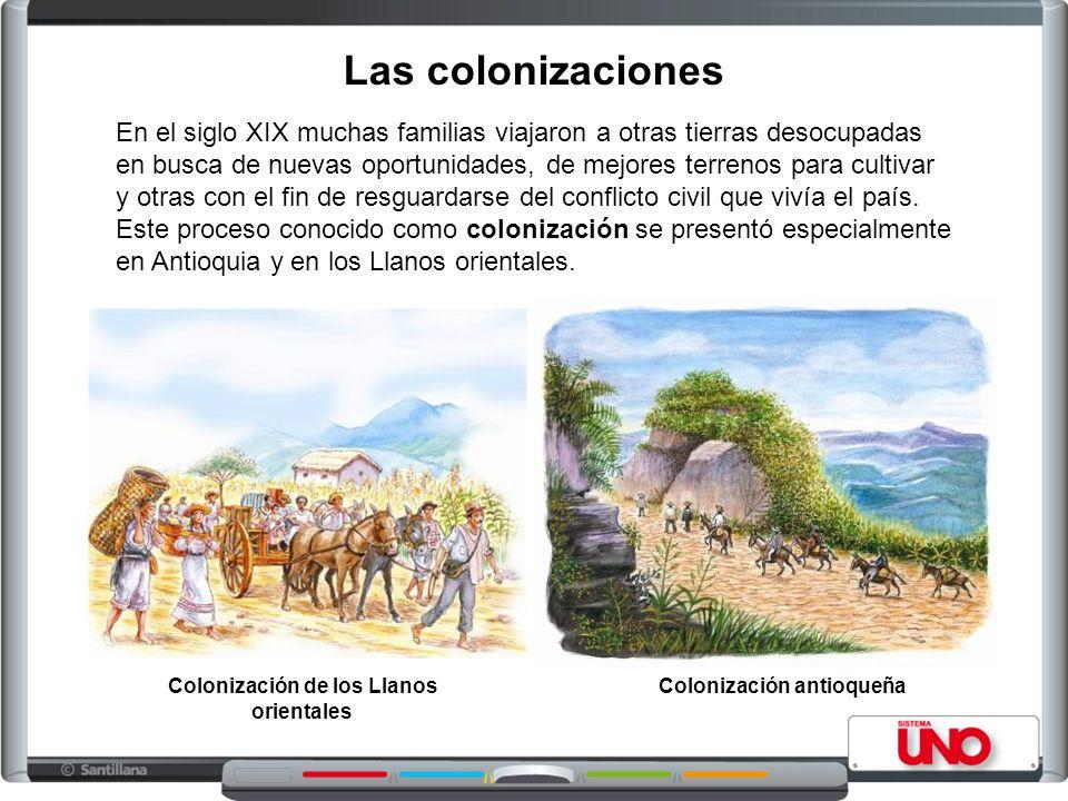 Colonización de los Llanos orientales Colonización antioqueña