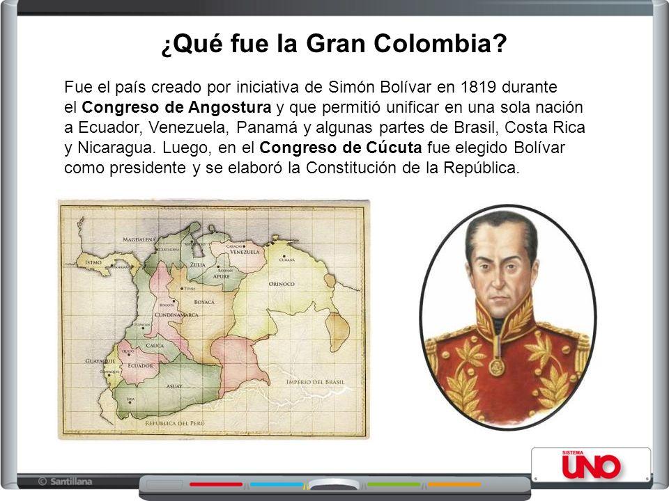 ¿Qué fue la Gran Colombia