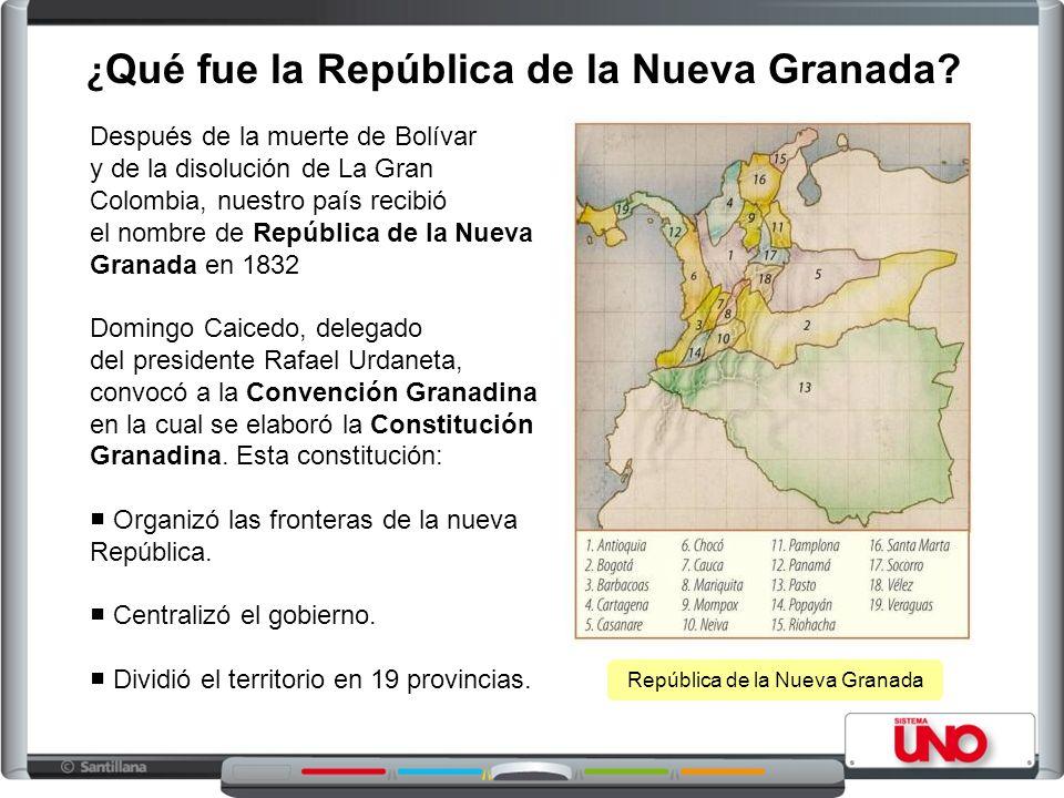 ¿Qué fue la República de la Nueva Granada