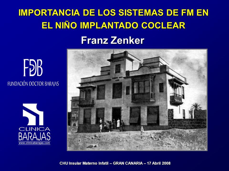 Franz Zenker IMPORTANCIA DE LOS SISTEMAS DE FM EN