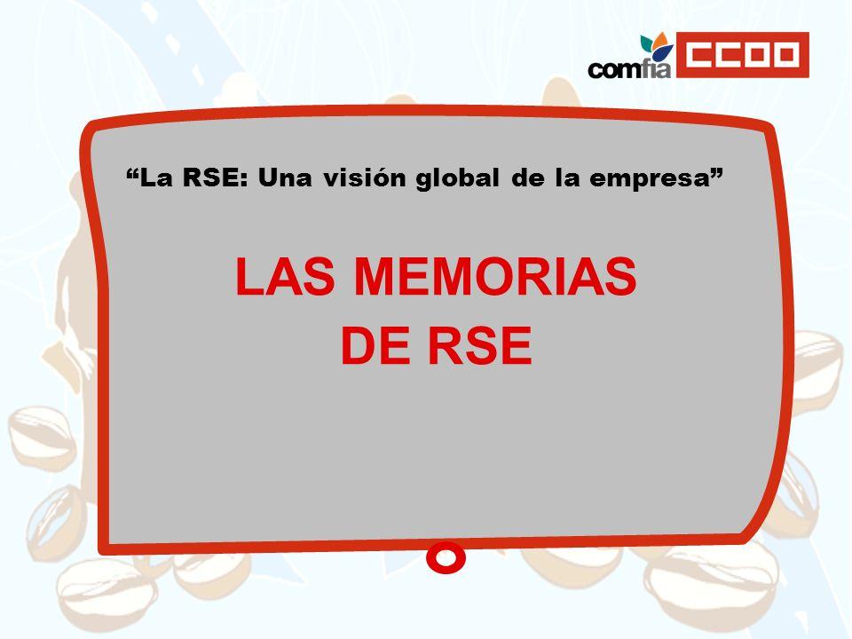 La RSE: Una visión global de la empresa