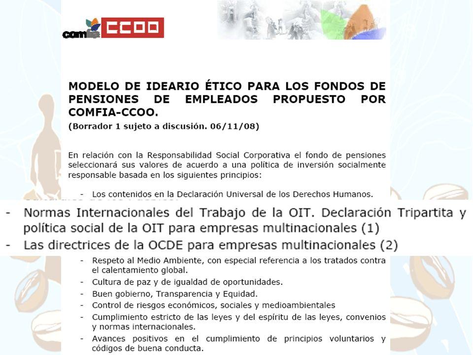 INSERTAR IDEARIO EN EL DOCUMENTO DE POLÍTICA DE INVERSIONES (EJEMPLO CAJASOL)