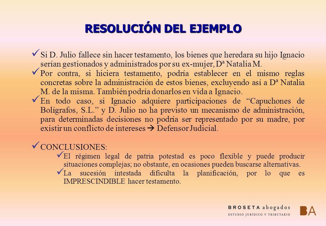 RESOLUCIÓN DEL EJEMPLO