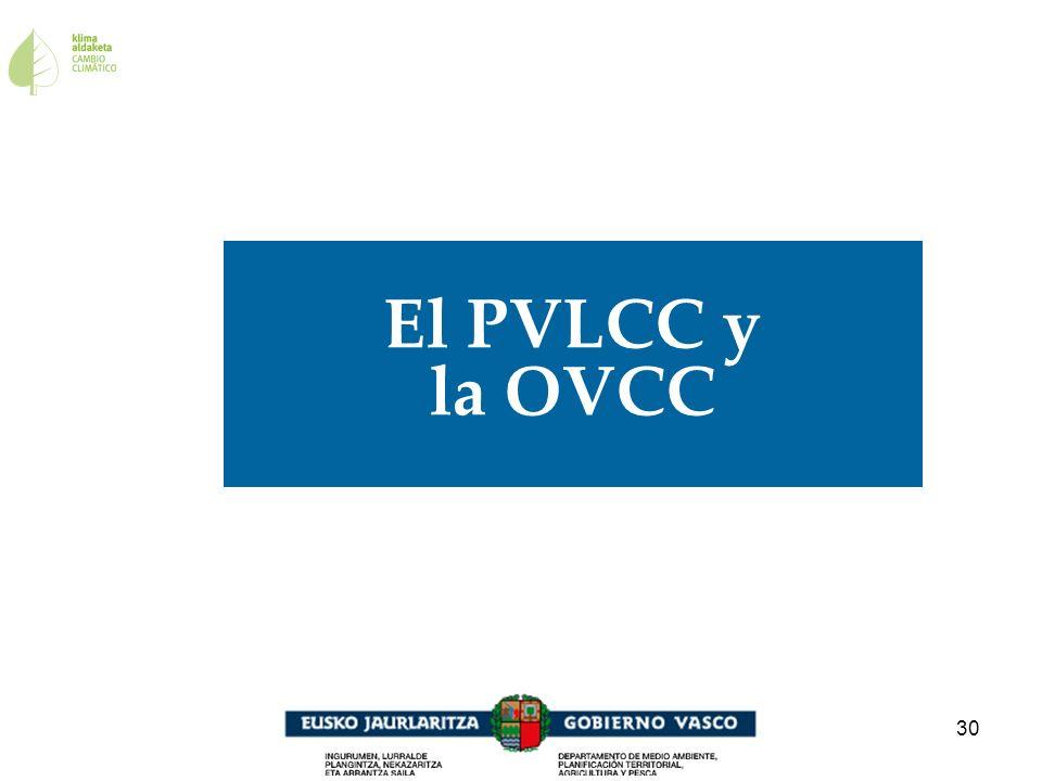 El PVLCC y la OVCC