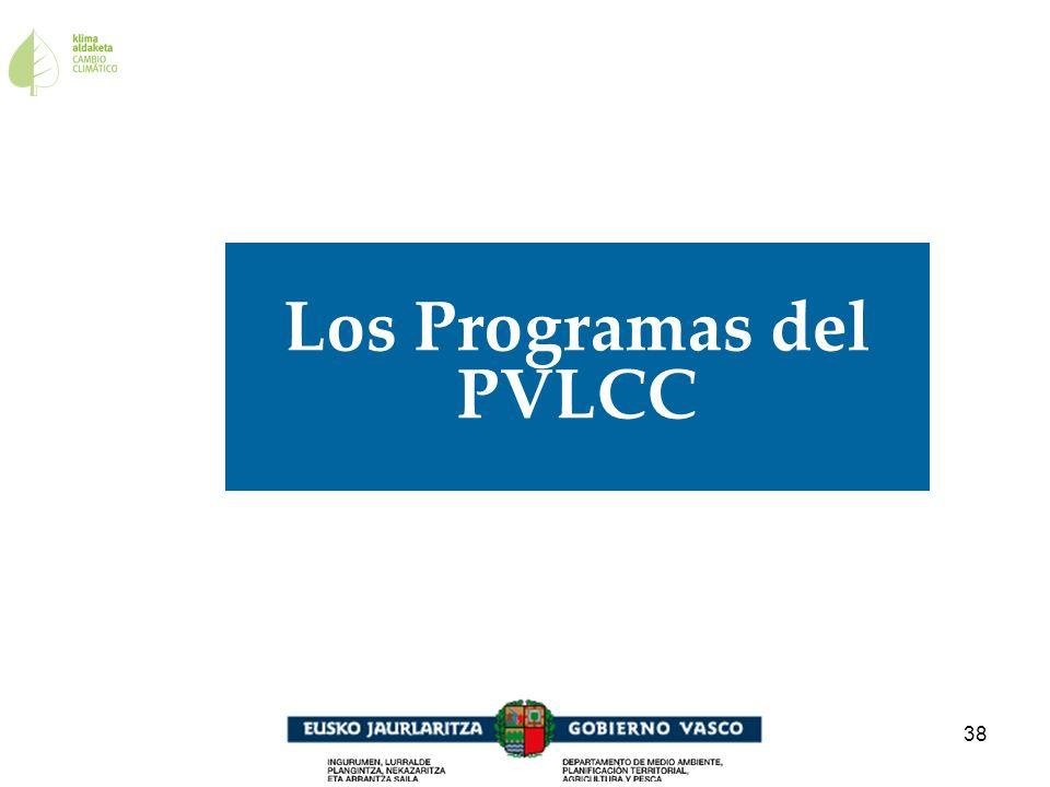 Los Programas del PVLCC