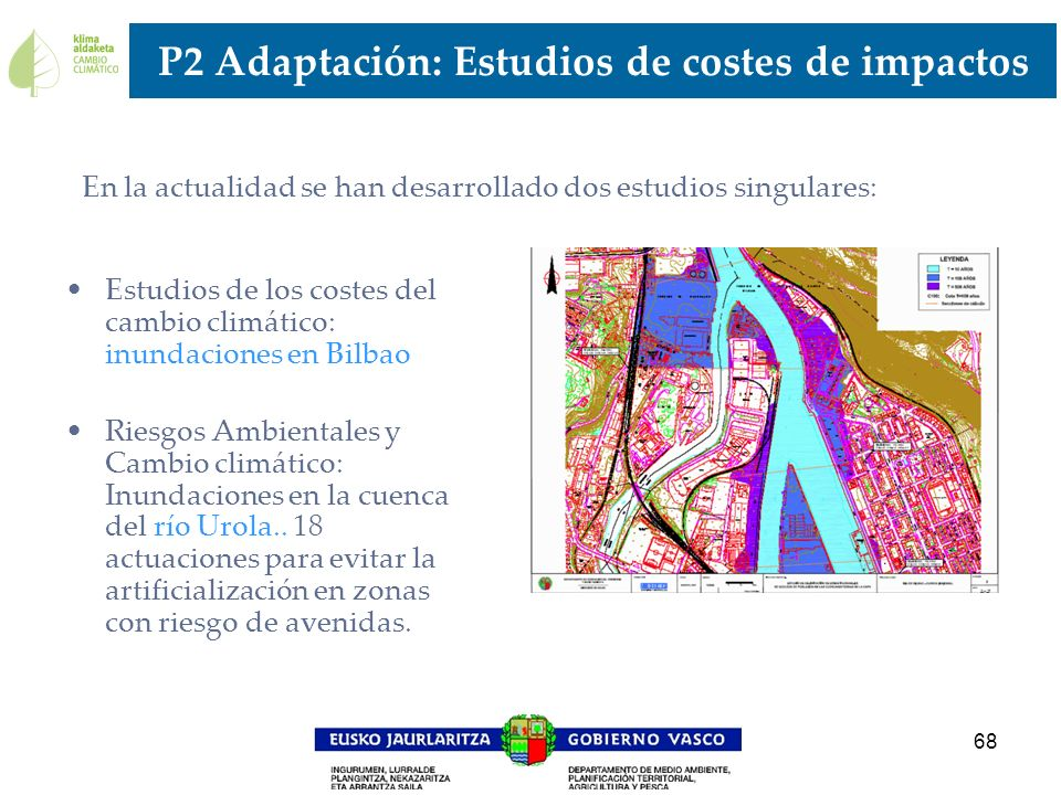 P2 Adaptación: Estudios de costes de impactos
