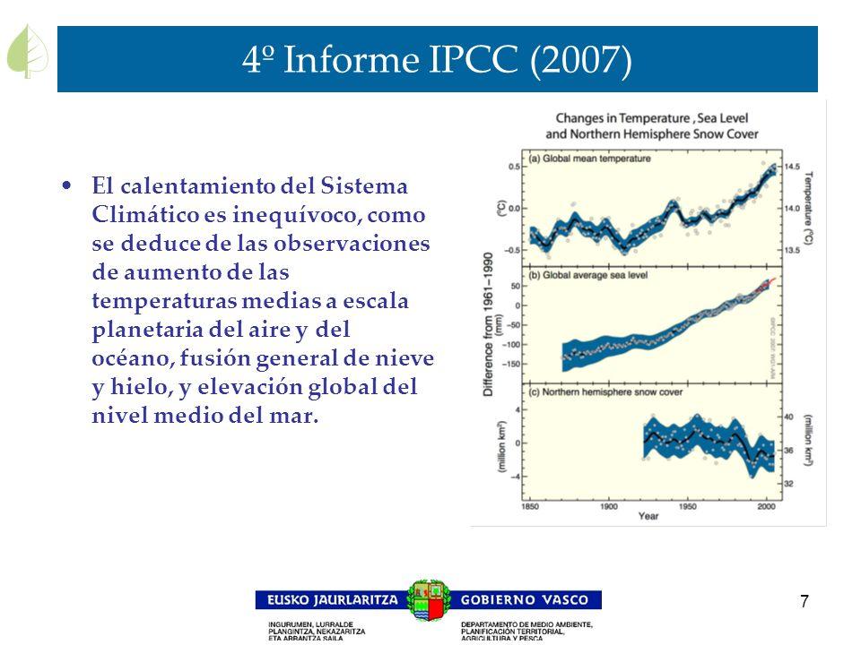 4º Informe IPCC (2007)