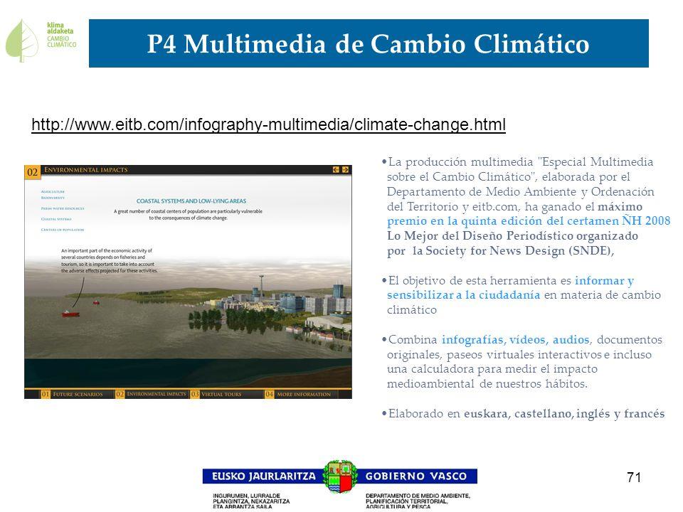 P4 Multimedia de Cambio Climático