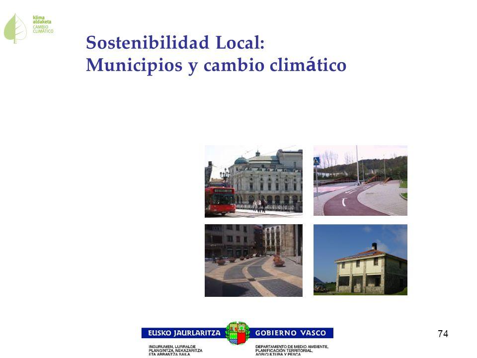 Sostenibilidad Local: